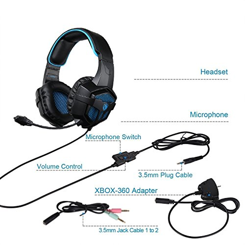 SADES SA807 Gaming Headphones