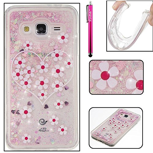 Price comparison product image Galaxy J310 / J3 Case, Firefish Thin Sparkle Flexible TPU Gel Silicone [Ultra Thin] [Scratch Resistances] Back Cover Shell for Samsung Galaxy J310 / J3 -Daizy