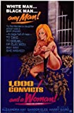 1000 convicts and a woman - One Thousand Convicts and a Woman POSTER Movie (27 x 40 Inches - 69cm x 102cm) (1971) (Style B)