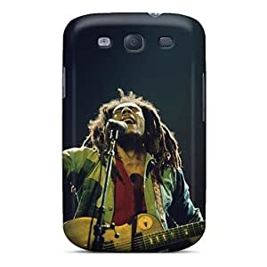 Shockproof Hard Cell-phone Case For Samsung Galaxy S3 With Custom Realistic Bob Marley Pictures MarcClements