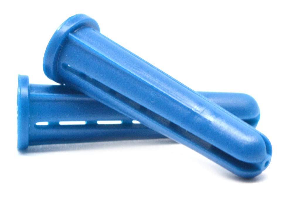 #6-8-10 x 7/8 Conical Plastic Anchor Blue Pk 40000