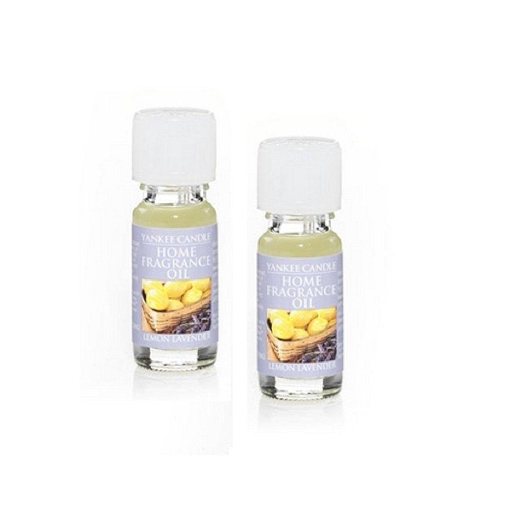 Yankee Candle 2 Pack Lemon Lavender Fragrance Oil .33 Oz.