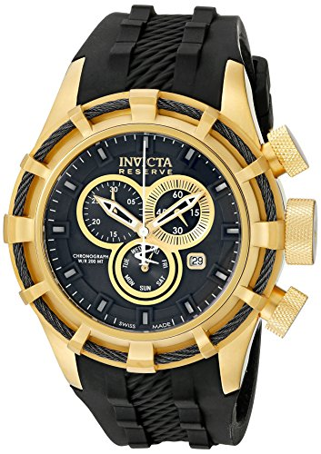 Invicta Men's 15786 Bolt Analog Display Swiss Quartz Black Watch