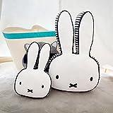 "Cartoon Rabbit Shape Pillow Soft Lumbar Back Cushion Plush Pillow Children's Room Decoration Pillow (40cmX60cm/15.7""X23.6"")"