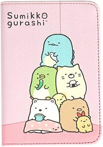 [スポンサー プロダクト]すみっコぐらし/SUMIKKOGURASHI・パスポートケース ホルダー 可愛いケース とかげのケース
