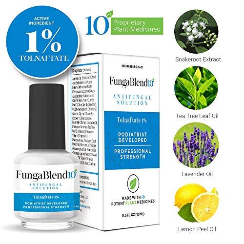 FungaBlend 10 Tolnaftate Antifungal Solution
