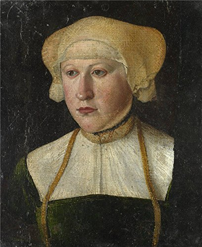 Oil Painting 'German-Portrait Of A Woman,16th Century' 8 x 10 inch / 20 x 25 cm , on High Definition HD canvas prints is for Gifts And Home Office, Home Theater And Living Room (Gladiator Costume Sword And Sheath)