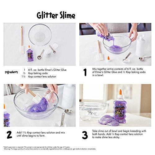 Elmer's Liquid Glitter Glue, Washable, Purple, 6 Ounces, 1 Count - Great For Making Slime Photo #13