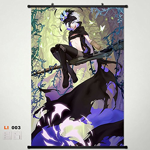 Home Decor Anime Rokka: Braves of the Six Flowers Fremy Speeddraw Wall Scroll Poster