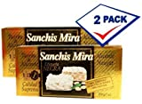 Sanchis Mira Turron de Alicante 7 oz Just arrived from Spain Pack of 2