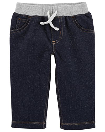 Carter's Baby Boys' Denim Pants 3 Months Blue