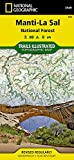 Manti-La Sal National Forest (National Geographic Trails Illustrated Map)