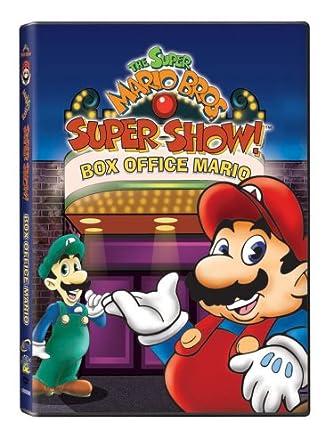 Amazon Com Super Mario Brothers Super Show Box Office
