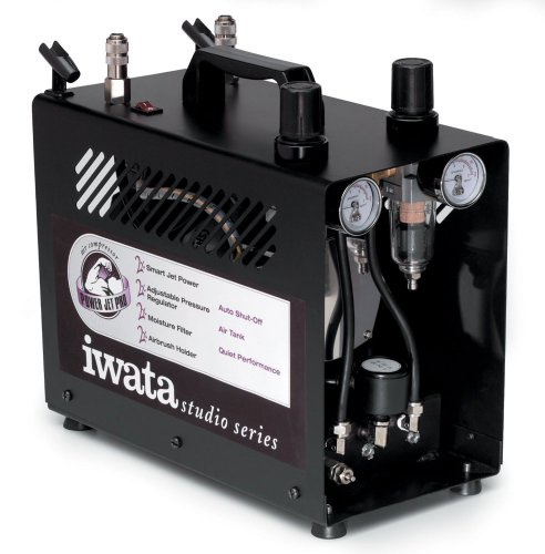 Iwata-Medea Studio Series Power Jet Pro Double Piston Air Compressor by Iwata-Medea