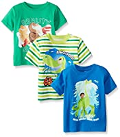 Disney Boys' The Good Dinosaur Tees(Pack...
