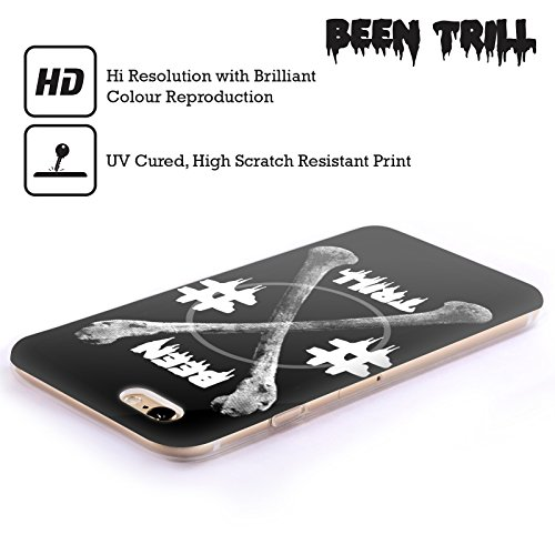 Official Been Trill Crossbone Skulls Soft Gel Case for Apple iPhone 4 / 4S
