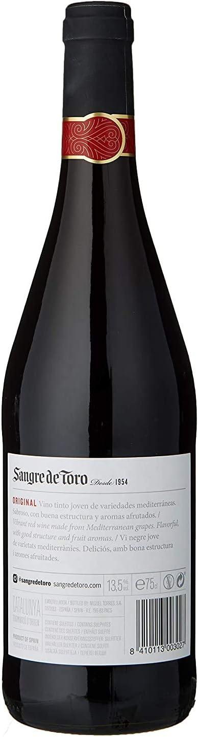 Sangre de Toro, Vino Tinto, 75cl, 750ml