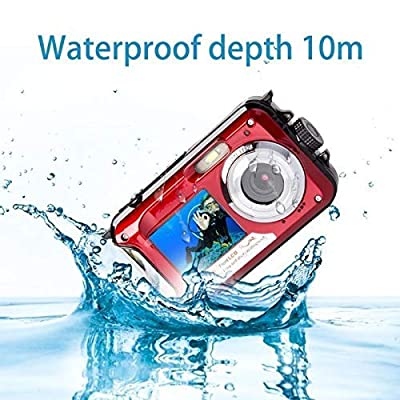 Action Camera 24MP 4K WiFi Waterproof Camera Sports Cam 170 Degree Ultra Wide-Angle Len DC801-29 by YISENCE