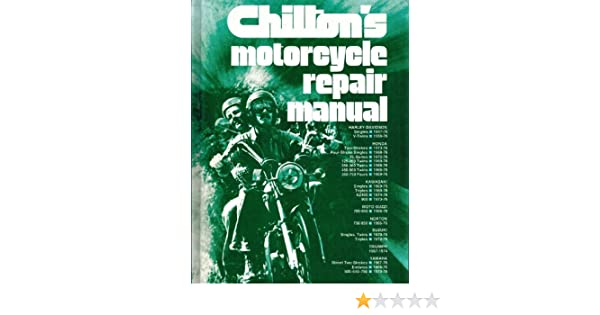 chilton manuals for motorcycles