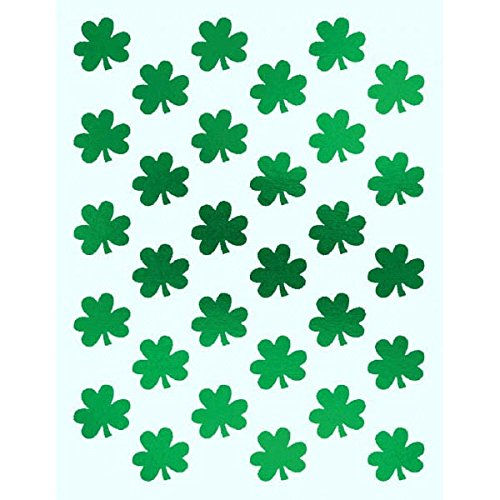 Shamrockin Patricks Metallic Shamrock Stickers product image