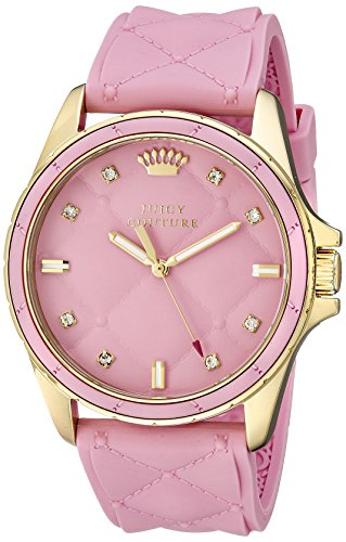Juicy Couture Women's 1901244 Stella Analog Display Quartz Pink Watch