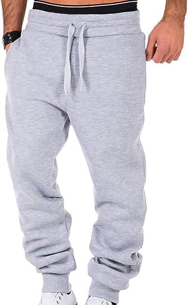 Hommes Sport Pantalon Long Pantalon Survêtement Fitness Entraînement Pantalon De Survêtement Gym Jogging