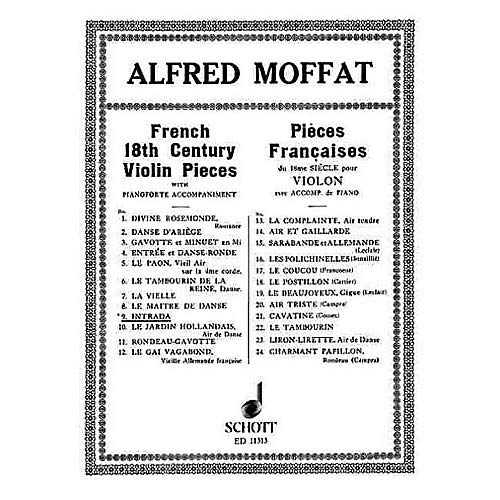 Intrada (from French 18th Century Violin Pieces) Schott Series Pack of 3 ()
