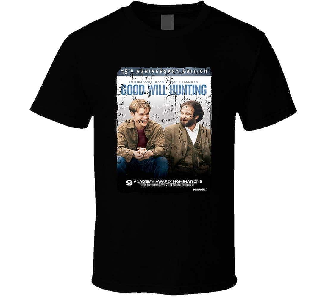Good Will Hunting Movie Poster Cover Good Will Hunting Robin Williams Matt Damon Tshirt