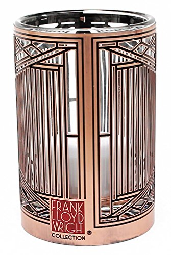 Frank Lloyd Wright Evans House Metal Votive