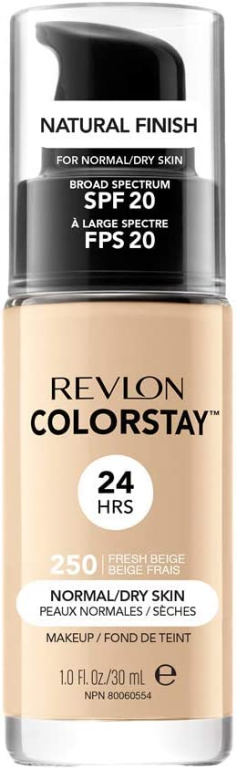 Oferta amazon: Revlon ColorStay Base de Maquillaje piel normal/seca FPS20 (#250 Fresh Beige) 30ml
