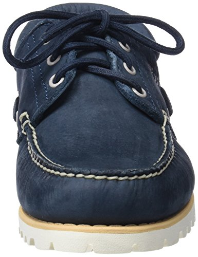 midnight Mocasines Buffed Hombre Timberland Handsewn 3 431 Barefoot Chilmark eye Para Azul Navy qgPI8Ugw