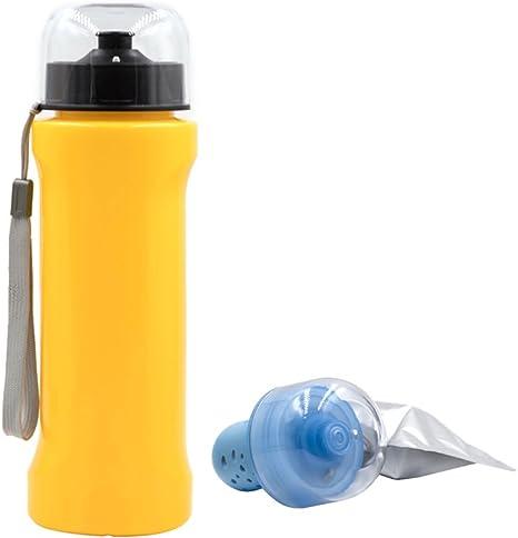 AimdonR - Botella de filtro de agua para exteriores/personales ...