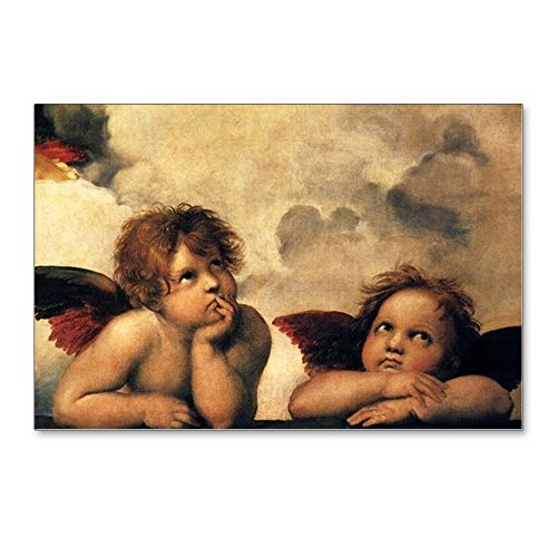 Postcard Madonna - CafePress - Angels By Raphael, Vintag - Postcards (Package of 8), 6