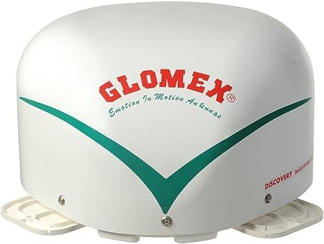 Antena de satélite automático Glomex 'Explorer 2