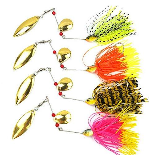 Fishing Hard Spinner Spinnerbait 0 63oz