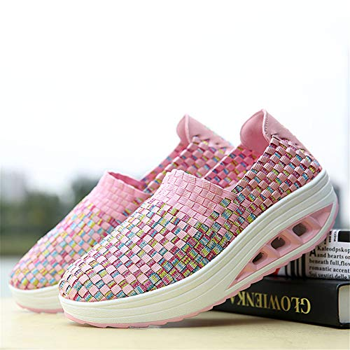 Mujer Zapatillas 1668 para AIRAVATA SH075 Pink wS80ntq
