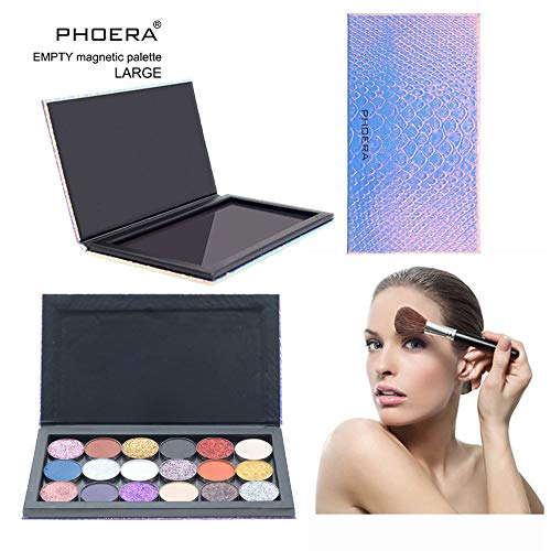Makeup Palette- Empty Magnetic Palette Makeup Palette Pad Leopard Large Pattern DIY Palette New 2019 -
