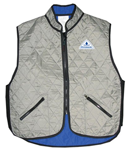(HyperKewl Evaporative Cooling Deluxe Sport Vest,Black,Large)
