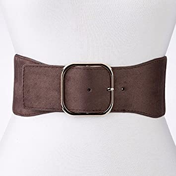 51214381233 2018 élastique élastique ceinture femme large Manteau robe veste Brown