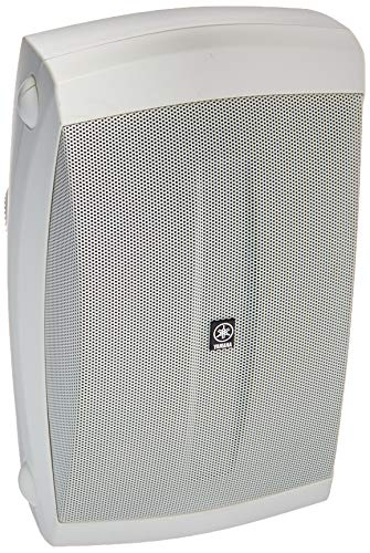 Yamaha NS-AW150W 2-Way Indoor/Outdoor Speakers (Pair, White)