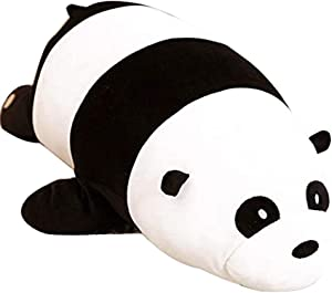 Nbeebro Cute Panda Plush Pillow Soft Panda Stuffed Animals Toys for Kids Boys Girls Birthday Xmas Gift 30.5 Inch