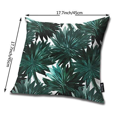 Zara-Decor Cypress Palm Home Funda de cojín Decorativa para ...