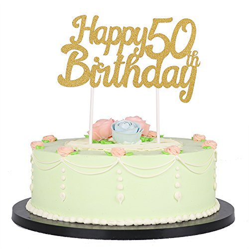 50th Birthday Cake Toppers - Shop 50th Birthday Cake ...