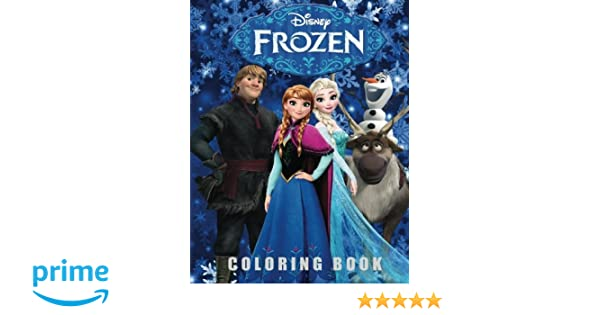 Small Frozen Coloring Pages : Frozen coloring book coloring all your favorite frozen characters