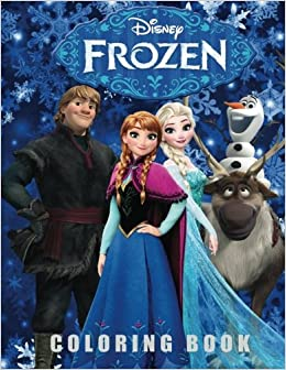 Frozen Coloring Book All Your Favorite Characters Funny Page 9781976320262 Amazon Books