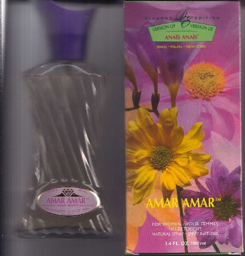 AMAR for women , eau de toillette natural spray