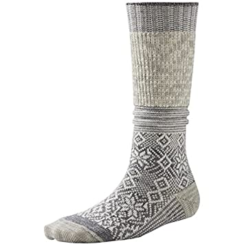 940641c6aeb7d Smartwool Women's Snowflake Flurry Socks - Natural Heather, Medium ...