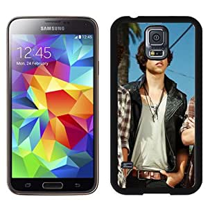 Beautiful Designed Cover Case With The Black Pony Boys Smile Sunlight Outdoor For Samsung Galaxy S5 I9600 G900a G900v G900p G900t G900w Phone Case