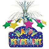 Happy Retirement Centerpiece Party Accessory (Value 3-Pack)