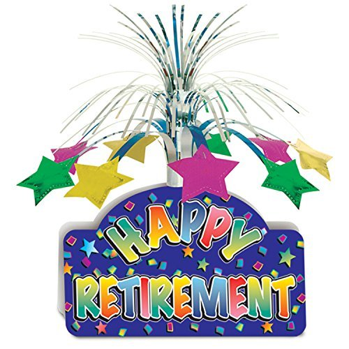 Happy Retirement Centerpiece Party Accessory (Value 3-Pack)